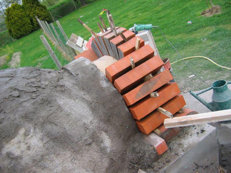 Construction du four mon four pain for Construction four a pain a bois